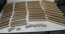 15 20 or 28mm scale 6.1 meters of wall 24mm High with bases to make them stable