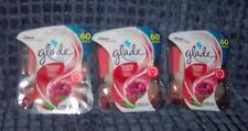 6 GLADE PLUGINS BLOOMING PEONY & CHERRY SCENTED ESSENTIAL OIL REFILLS