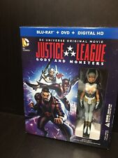 Justice League Gods And Monsters With Figurine Blu-ray 9131