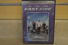 Fast Five (DVD, 2011, Rated/Unrated)*NEW Sealed*