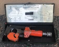 Thomas & Betts T&B 367 Hydraulic Cable Cutter greenlee burndy #2