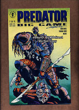 1 1991 Predator Big Game #2 Signed by Chris Warner w/ CoA Movie