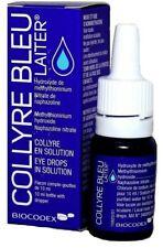 Original COLLYRE BLEU Laiter Blue Eye Drops 10ml NEW & SEALED (Exp. 2022)
