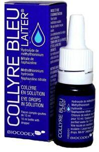Original COLLYRE BLEU Laiter Blue Eye Drops 10ml NEW & SEALED (Exp. 04/2023)