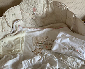 Winnie The Pooh Cot Bed Bedding Set