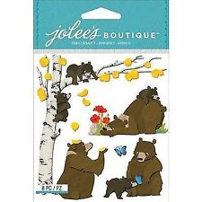 Jolees E5021631 Jolees Boutique Dimensional Stickers-bear Family