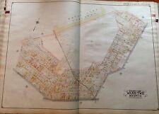 1908 E. BELCHER HYDE MASPETH MT. ZION CEMETERY P.S. 78 QUEENS NY PLAT ATLAS MAP