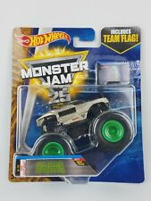 Hot Wheels Monster Jam 25th Alien Invasion1/64th Monster Truck Team Flag