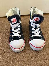 Boys/Girls Lee Cooper Navy Blue HI Top Baseball Shoes Size 11 SB4