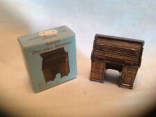 Antique Zinc-Alloy Miniature Pencil Sharpener Desk No. 1146