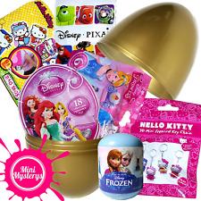 GIANT SURPRISE EGG - 6 TOYS Disney Frozen, Cinderella, Hello Kitty Blind Bags
