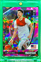 LAMELO BALL 2020-21 PANINI PRIZM PINK ICE #43 DRAFT PICKS ROOKIE RC HORNETS