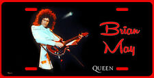 BRIAN MAY OF QUEEN ART LICENSE PLATE