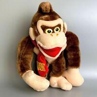 "Rare 1999 Donkey Kong Vintage Plush Doll Banpresto 10"" 25cm Nintendo NES no tag"
