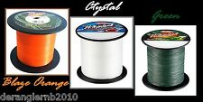 Berkley Whiplash Blaze Orange Crystal White 0,06 0,08 0,10 0,12 0,14 0,16 je10m