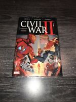 Civil War II Marvel by Bendis Marquez Ponsor 2017 Hardcover Brand New 50 Retail!
