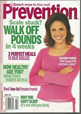 Prevention July 2004 Walk Off Pounds/How Healthy Are You/Best Low-Fat Frozen Tre