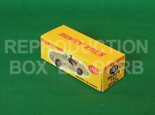 Dinky #105 Triumph TR 2 Sports ('spun' wheels) - Reproduction Box by DRRB