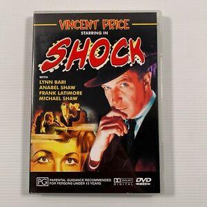 Shock (DVD 1946 film) Vincent Price Lynn Bari Region ALL