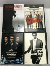 4 DVD Lot Scarface Goodfellas Get Carter The Usual Suspects Gangster lot