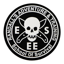 Esee Randalls Adventure And Training School of Survival Rat Patch Black RATPATCH