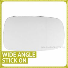 Right hand driver side for Renault Megane 2002-2008 Wide Angle wing mirror glass