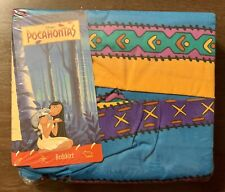 Rare Disney's Pocahontas Bedding Full Double Bed Skirt Fabric New In Package