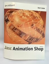 Jasc Animation Shop Version 2.0 User's Guide Manual Book NEW