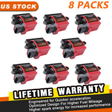 8Packs Square Ignition Coil for CADILLAC CHEVY GMC WORKHORSE Acdelco #D581 UF271