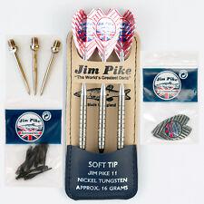 Signature Pro Jim Pike II 95% Tungsten 16g Soft Tip Set Bundle by Jim Pike Darts