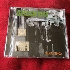 GREEN DAY cd WARNING: Billie Joe Armstrong Punk Rancid Nofx