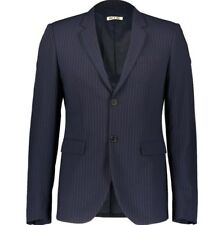 Marni Navy Pinstripe Wool Blazer Men. UK38 (IT48) Slim Fit. BNWT. RRP £1250