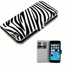"""Fashion Phone Leather Case Wallet Flip Cover Stand For Apple iPhone 6 6S 4.7"""""""