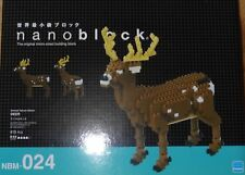 Deer Deluxe Edition Nanoblock Micro Sized Building Block Set Kawada Nbm024
