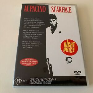 Scarface - Al Pacino  DVD