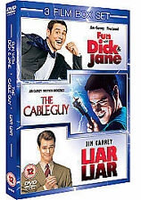 JIM CARREY COLLECTION DVD BOX SET Fun with Dick and Jane Cable Guy Liar Liar New