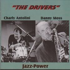 """Charly Antolini """"The Driver"""" (Indian Summer, Rosetta) Skinfire Records CD Album"""