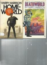 HARRY HARRISON - HOME WORLD  - A LOT OF 2 BOOKS
