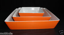 Thomas Sunny Day Orange / Gratin /  Auflaufform / Set 3 tlg Neuware