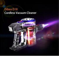 Dibea D18 2-in-1 Lightweight Cordless Handheld Stick Vacuum Cleaner 2Speeds Red