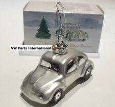 VW Beetle Silver Christmas Tree Decoration Xmas Gift Genuine OEM