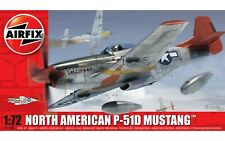Brand New Airfix 1:72nd Scale North American P-51D Mustang Model Kit.