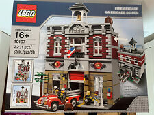 NEW EXCELLENT CONDITION LEGO Creator FIRE BRIGADE 10197 RETIRED SEALED SET