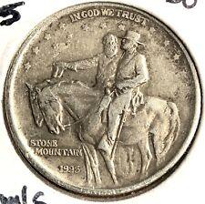 1925 Stone Mountain Commemorative Silver Half Dollar # 8034