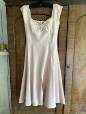 Cotton Dress Fifties Style Size 10