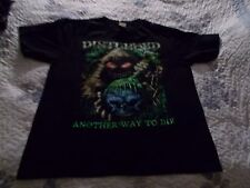"""Disturbed """" Another Way To Die  """"   Tee   [   Large  ]"""