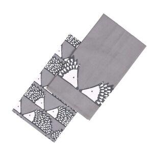 Scion Living Spike Set of 2 Tea Towels - Grey