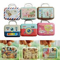 Cute Dollhouse Miniature Metal Luggage Box Suitcase Mini Doll-House U8J4 Ac A6P4