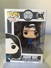 MING-NA WEN SIGNED FUNKO POP VINYL AGENTS OF SHIELD AGENT MAY