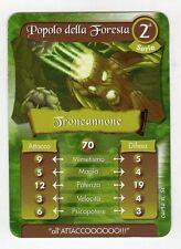 figurina - CARD GORMITI - SERIE 2 TRONCANNONE